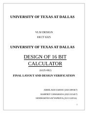 UNIVERSITY OF TEXAS AT DALLAS.docx