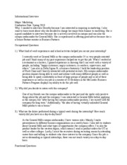 Interview essay paper