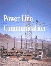 power line PPT