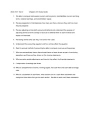 ACG 3131 Test 2    C hapters 3-5 Study Guide