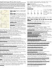 Physics 100 Cheat Sheet pdf - Kinematics Questions(1km = 1000m 1m