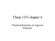 chem1151 ch 4(part1)