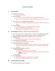 8. Business Formations Outline.docx