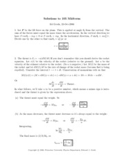 Solution Midterm 06