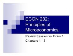 micro econ exam 3 review