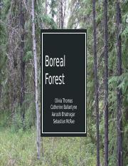 Boreal Forest Biomes Project.pptx