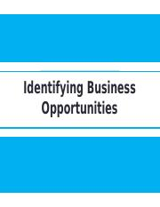 3 Identifying Business Opportunities.pptx