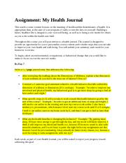 Week 1 Assignment (Concepts of Health Promotion).docx