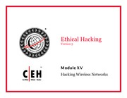 CEH v5 Module 15 Hacking Wireless Networks