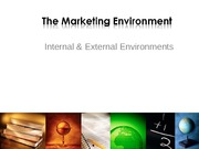 Unit 7  - Marketing Environment