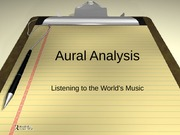 2-Aural Analysis-Listening to the World's Music