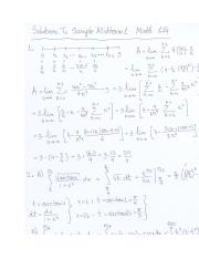 SolutionsTo Sample Midterm 1 Math 114.docx