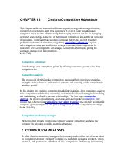 CHAPTER 18  Creating Competitive Advantage.docx