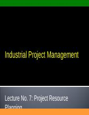 Lecture_No_7_Project Resource Planning.ppt