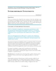 15 Intercorporate Investments