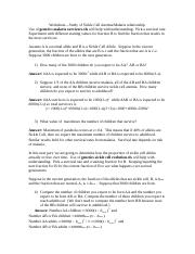 malaria worksheet with answers