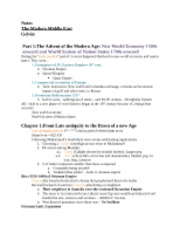 Notes- Gelvin Text