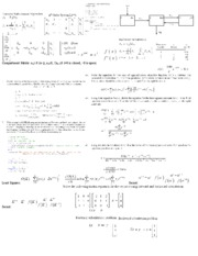 Cheat Sheet - Exam 2