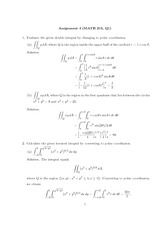 Math 215  Assignment 4