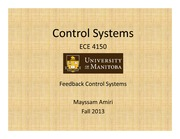 Lecture 3-Feedback control Systems