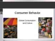 Global Consumption and Culture - student copy