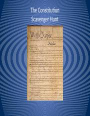 Constitution scavenger hunt answer key ap government