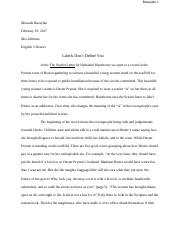 English Essays Topics  Pages Miranda Bacaylan  Scarlet Letterdocx Comparison Contrast Essay Example Paper also Essay On Religion And Science Prynne Is Also Criticized Through Biblical References Lawrence  Research Essay Topics For High School Students