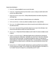 Review Terms Worksheet 2