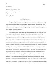 Essay 1 English Composition II.docx