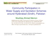 community water supply and sanitation schemes