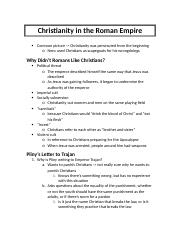 Christianity in the Roman Empire (11:28:2016).docx