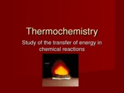Honors_Thermochemistry