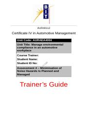 Assessment 4 - Trainer's Guide.docx