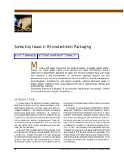 Key Issues in Electronic Packaging.pdf