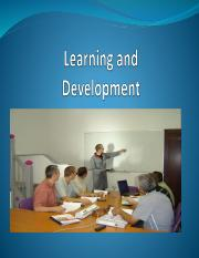 Learning & Development for students
