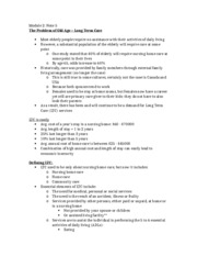 Acturarial Science 1021 Module 2 Note 6