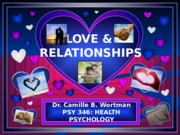Lecture 10 - Love & Relationships (Student Version)