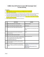 Copy of C186E Class 20 Practice to Learn Scavenger Hunt.pdf