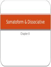 Chapter 6 Somatoform  And Dissociative.pptx