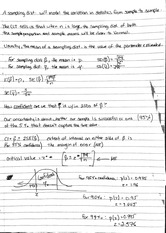 Notes on Confidence Intervals