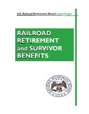 Railroad Retirement Benefits