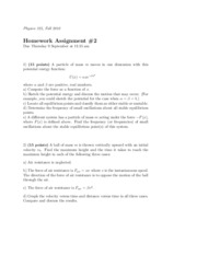Physics 325 Homework 2