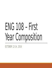 First Year Composition - 101216 101416 (2)