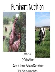 Ruminant nutrition 1 full version