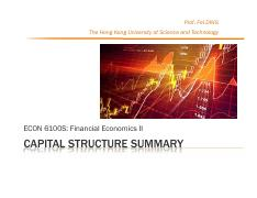 Lec5 Capital Structure Summary.pdf