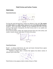 handout_on_fluid_friction_and_surface_tension