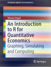 (SpringerBriefs in Economics) Vikram Dayal-An Introduction to R for Quantitative Economics_ Graphing