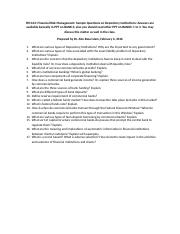 Sample_Questions_on_Depository_Institutions.docx