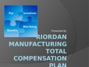 Riordan Total Compensation Plan