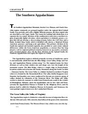 001_Chapter 7 The Southern Appalachians.docx